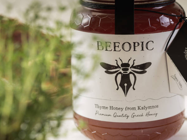 Beeopic - Θυμαρίσιο μέλι Καλύμνου